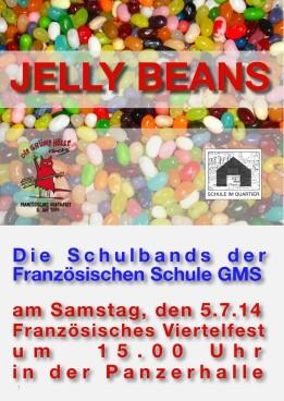 Jelly Plakat Viertelfest 2014